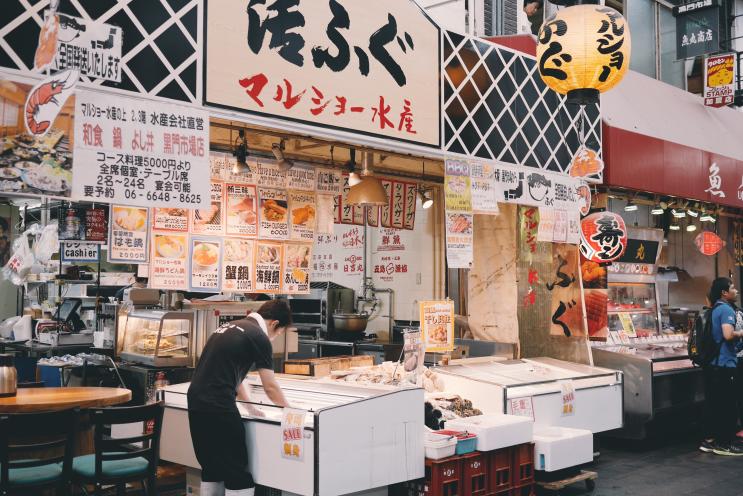 [遊記] 我所認識的日本 ♥ 美食不夜之都-大阪