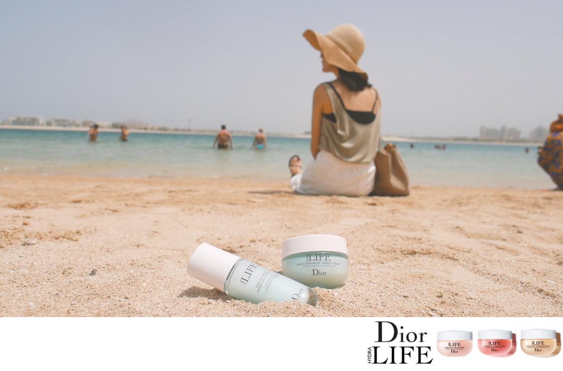 [邀稿] Dior全新花植水漾保濕系列♥83%天然花植配方給肌膚極天然的3分鐘保養