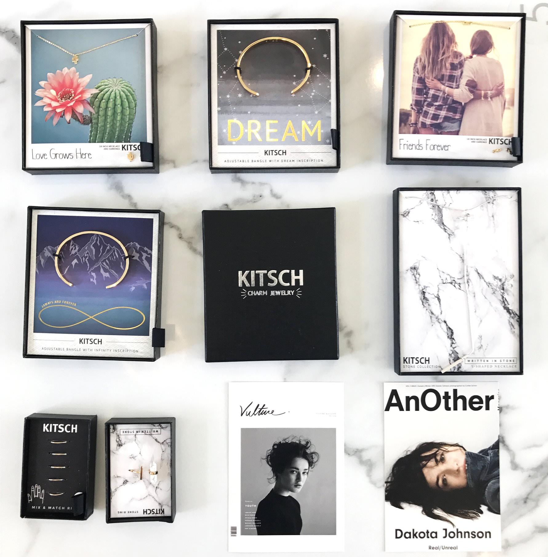 [ACC] 屬於你跟我的專屬悄悄話♥美國時尚飾品品牌KITSCH