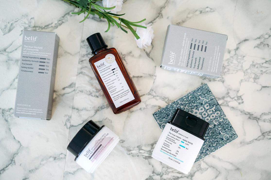 [邀稿] 最貼心的保養品牌belif♥一起來為所有換季肌膚問題來做準備