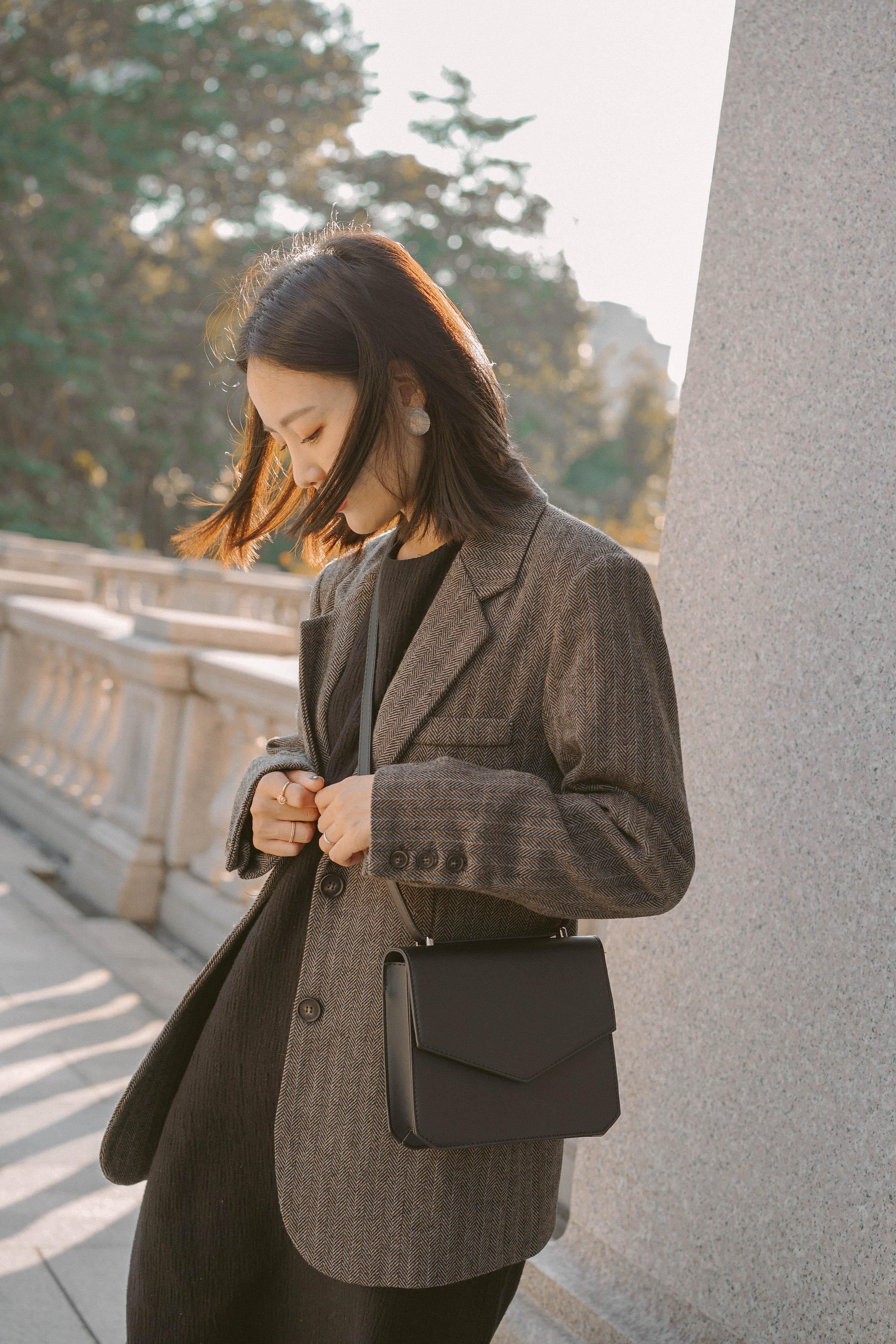 [穿搭] 秋末冬初unsnnoi女子穿搭分享♥
