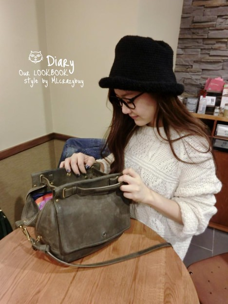 [Diary] 一日假日穿搭文 ♥ 包包突襲(上)