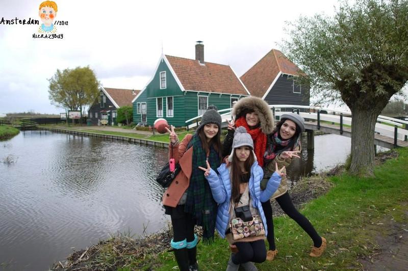 [歐洲] 歐洲遊第一章♥阿姆斯特丹起司木屐村