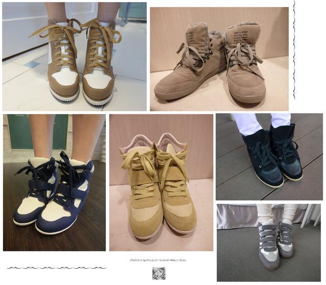 [蒐集癖] 忽然上癮的心機內增高球鞋們♥